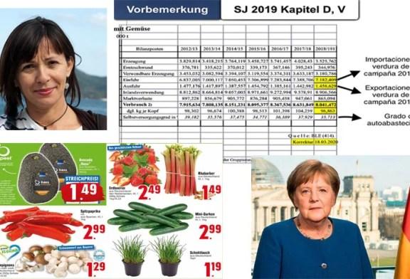Los alemanes eligen fruta y verdura española durante la crisis del coronavirus
