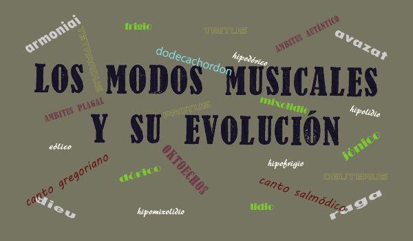 modos musicales