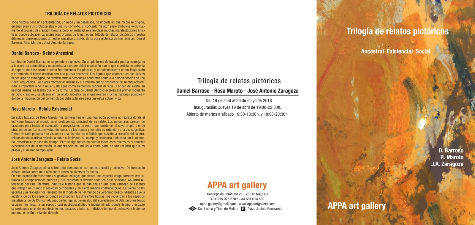 Exposición de collages por Jose Antonio Zaragoza en Galeria de Arte Appa Art Gallery en Madrid