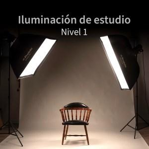 Cabecera Curso online de fotografía de iluminación de estudio