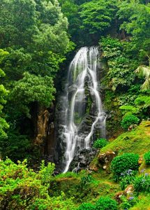 Cascada. Azores