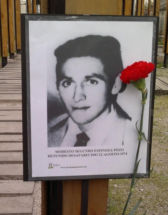 Modesto Segundo Espinoza Pozo Detenido Desaparecido 22-agosto-1974