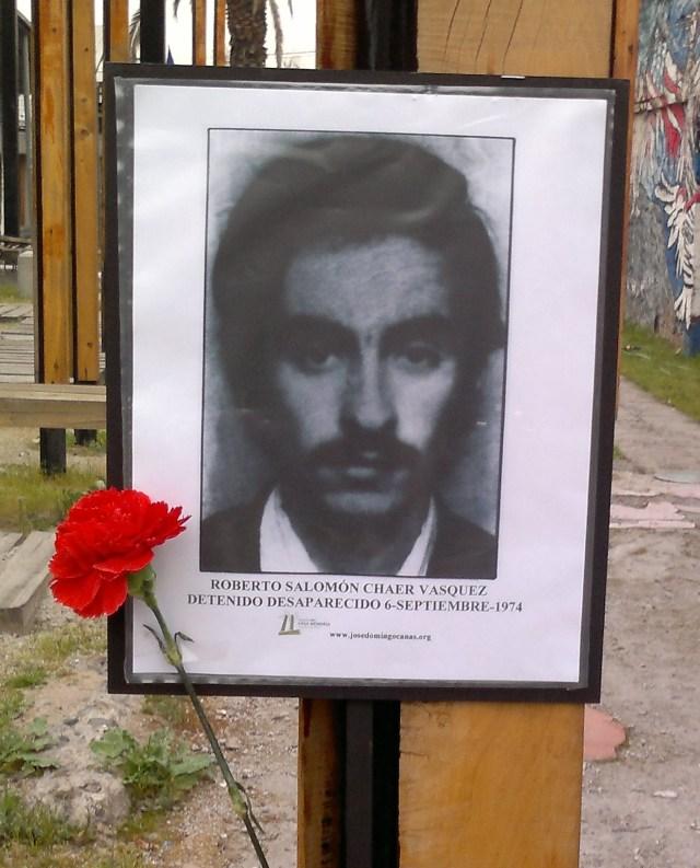 Roberto Salomón Chaer  Vasquez Detenido Desaparecido el 6 de septiembre de 1974