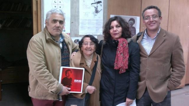 La Sociedad De Difusión Cultural Ventana Abierta LTDA junto a Laura Moya Fundadora de Casa Memoria.