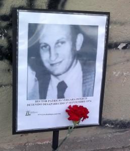 Héctor Patricio Vergara Doxrud. Detenido Desaparecido el 17 de septiembre de 1974.
