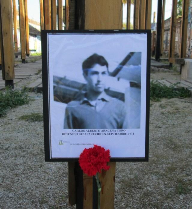 Carlos Alberto Aracena Toro. Detenido Desaparecido el 24 de septiembre de 1974