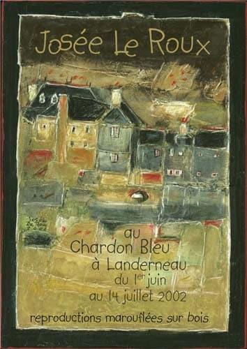 Chardon Bleu 2002, affiches