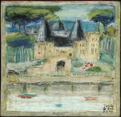 Château de Cosquiès au Conquet