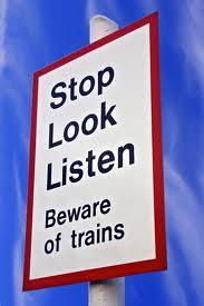 Attention aux trains