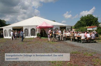 Rentweinsdorf-Zelttage