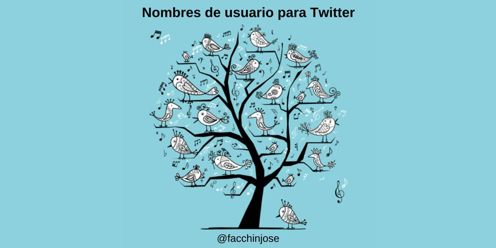 ¿Cómo elegir nombres para Twitter originales y que destaquen tu cuenta?