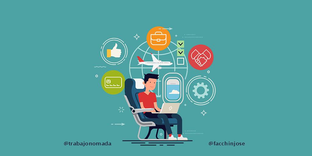 ¡Conviértete en nómada digital y trabaja viajando por el mundo!