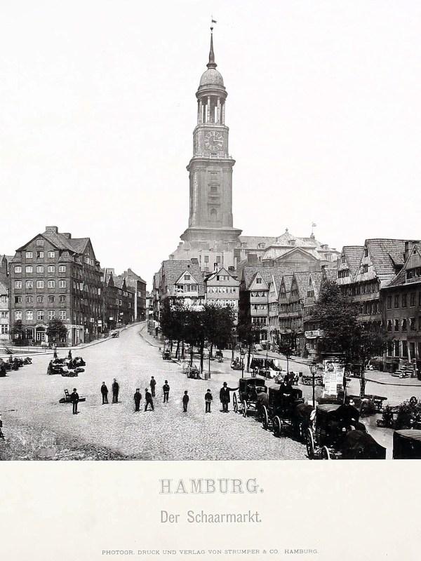 Hamburg 1875, Schaarmarkt