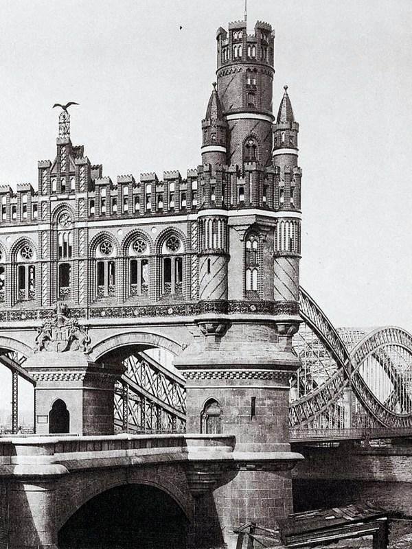 Hamburg 1894, Neue Elbbrücke