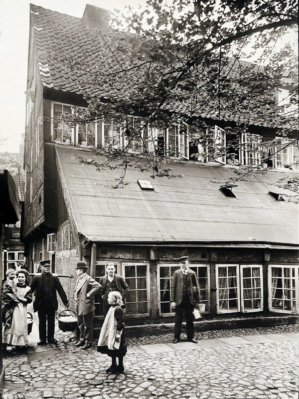 Hamburg 1910, Dammtorwall