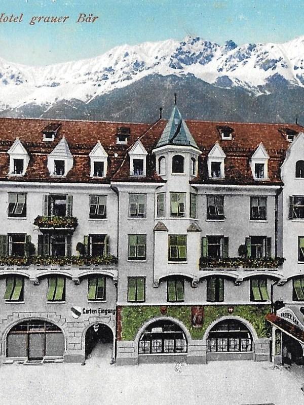 Innsbruck 1910, Hotel Grauer Bär