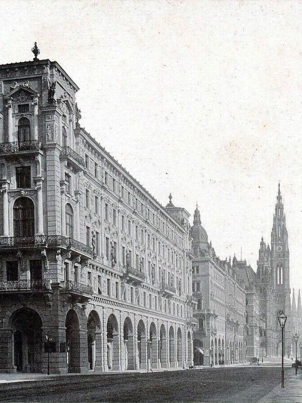 Wien 1880, Reichsratsstraße