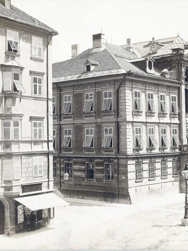 Innsbruck 1890, Straßenbild