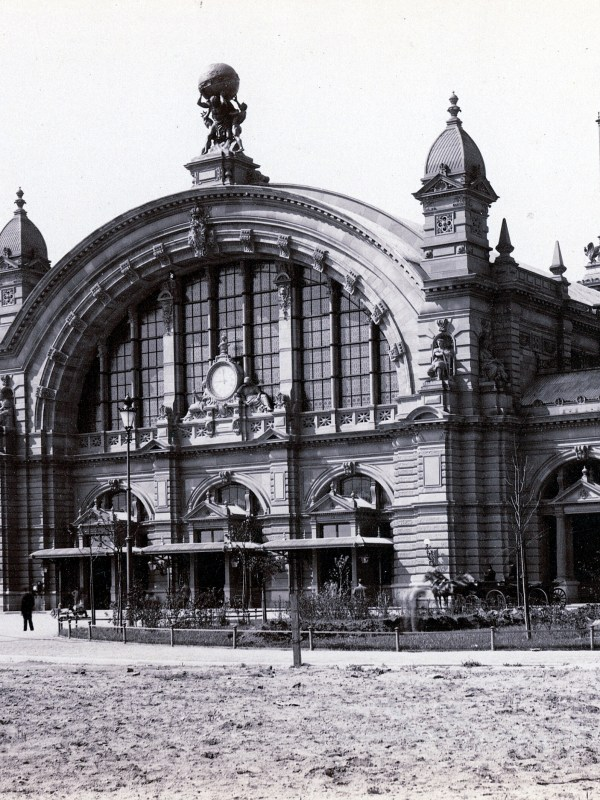 Frankfurt 1883, Hauptbahnhof