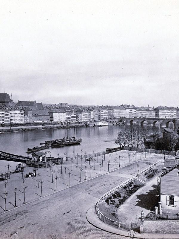 Frankfurt 1880, Blick über den Main