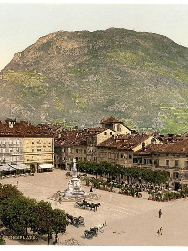 Bozen 1890, Innenstadt