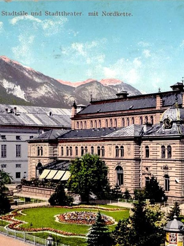Innsbruck 1900, Stadtsäle