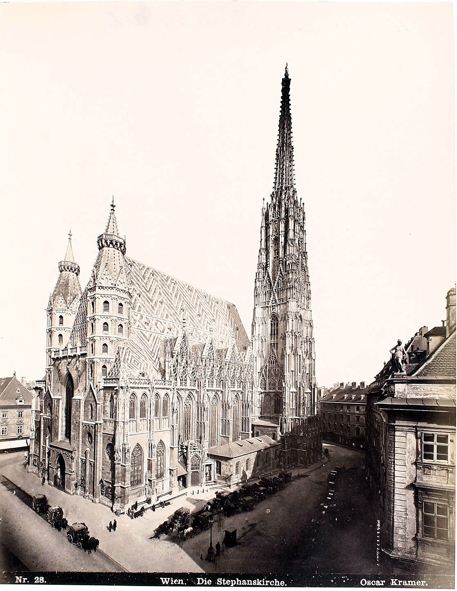 Wien 1875, Stephansdom