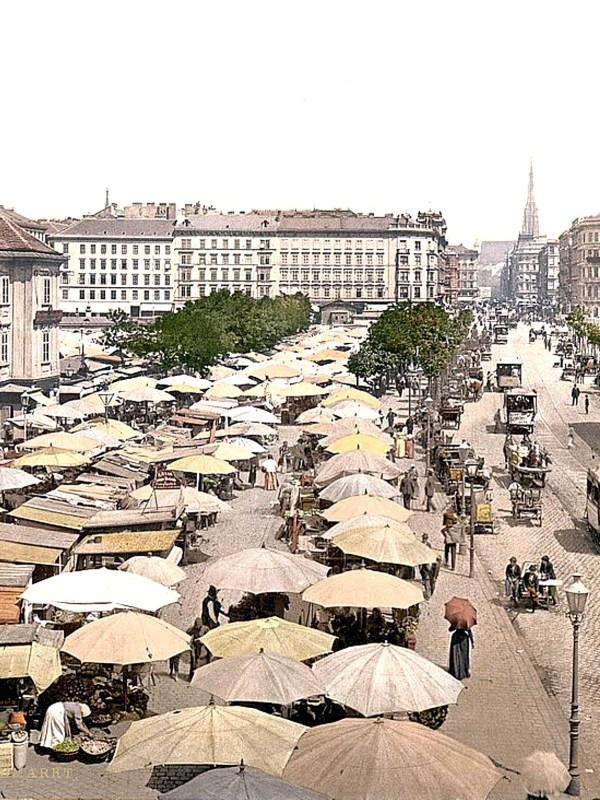 Wien 1890, Naschmarkt