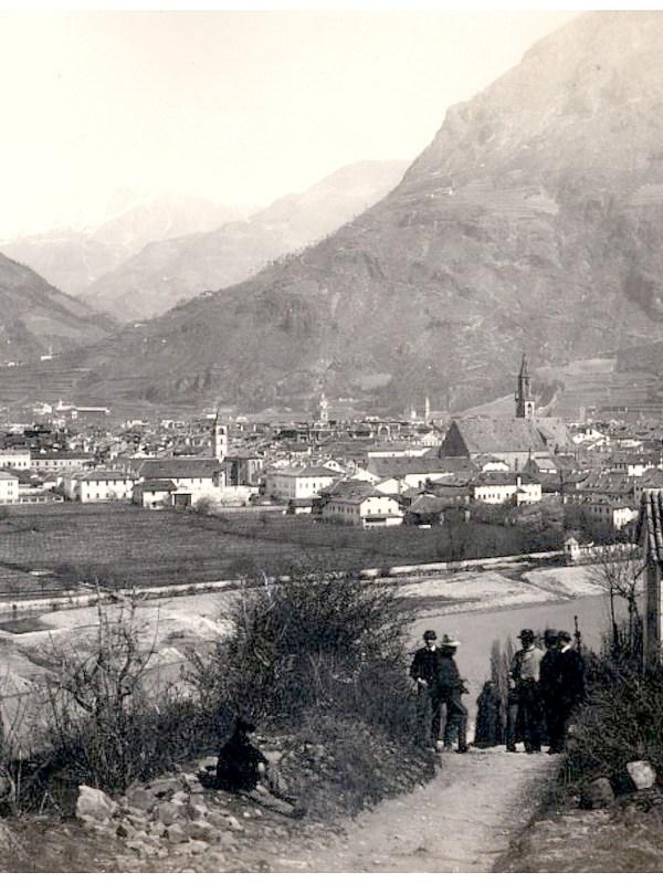 Bozen 1875, Kalvarienberg