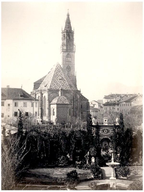 Bozen 1875, Pfarrkirche