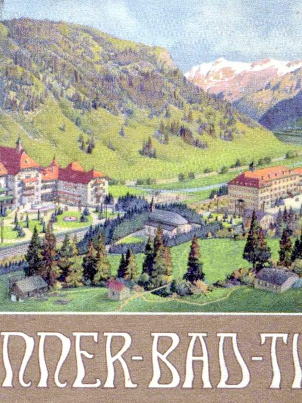 Brennerbad 1910, Werbung