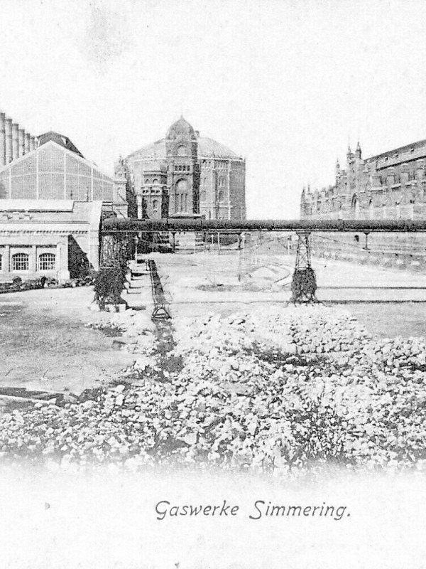 Wien 1910, Gaswerk Simmering