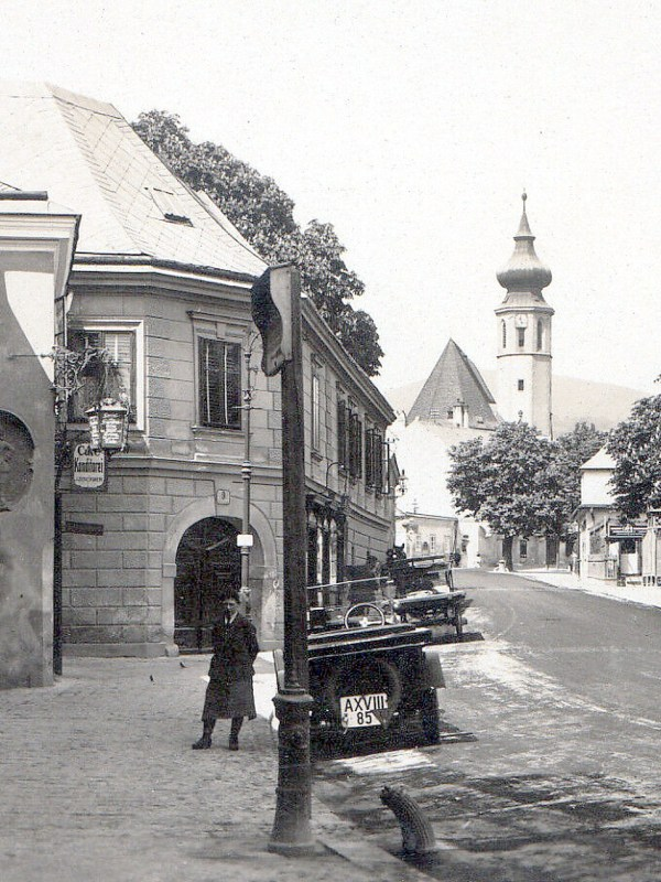 Grinzing 1935, Straßenbild