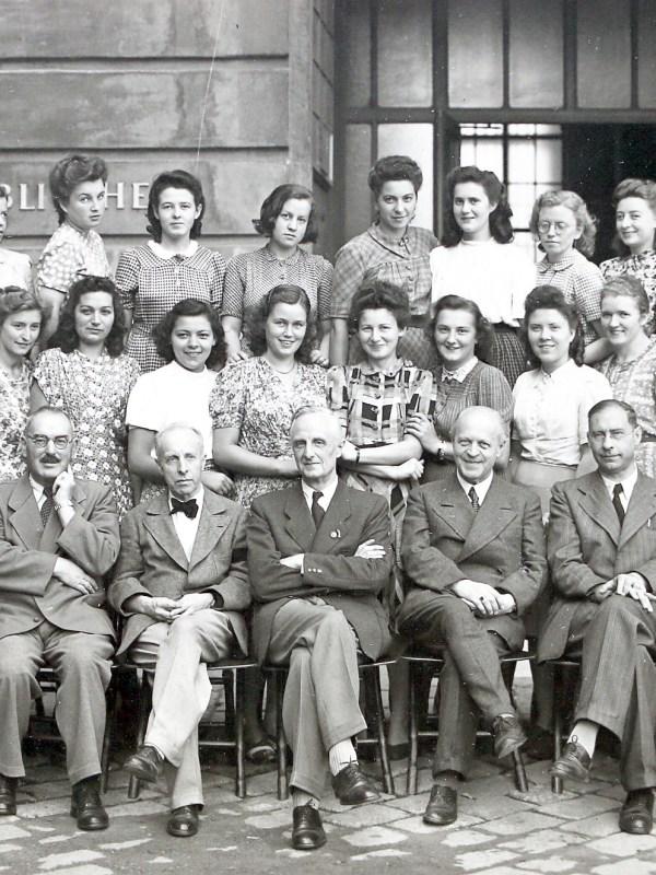 Wien 1944, Bibliothekspersonal