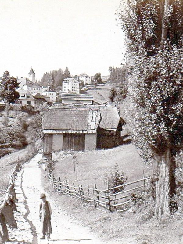 Lengmoos 1885, Straße