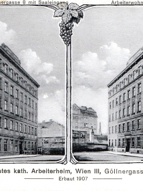 Wien 1907, Arbeiterheim