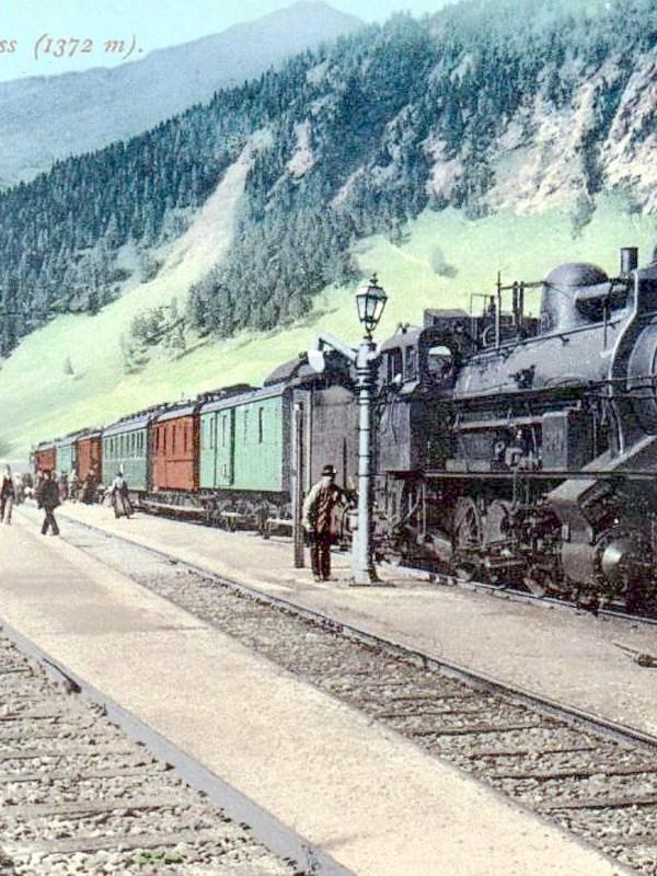 Brenner 1910, Bahnhof