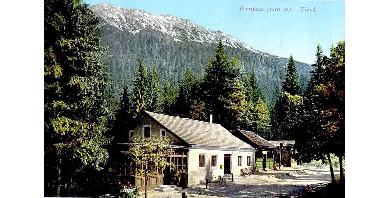 Fernpass 1910, Gasthaus