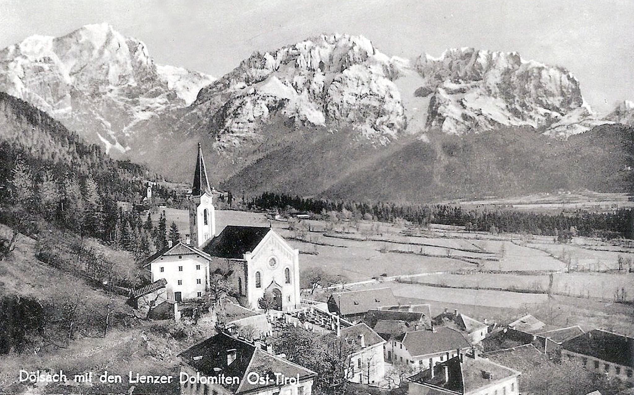 Dölsach 1925, Dorfbild