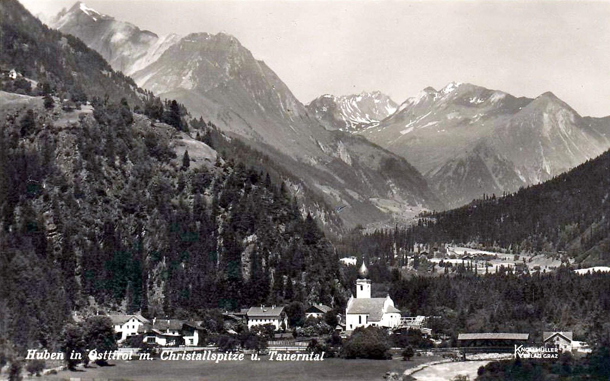 Huben 1931, Dorfbild