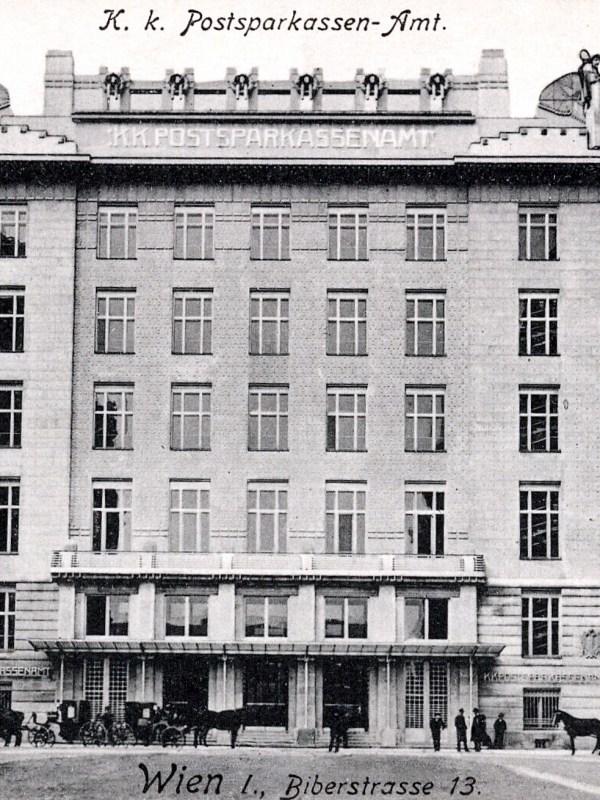Wien 1910, Postsparkassenamt