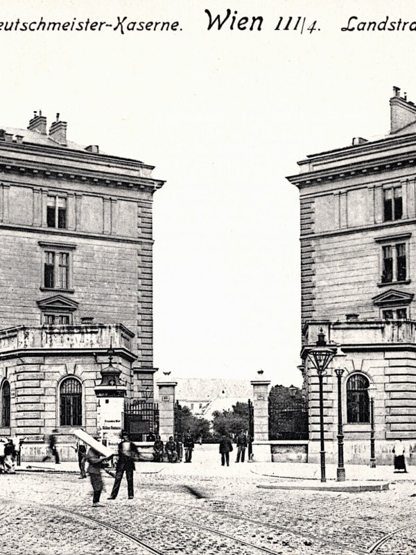 Wien 1905, Deutschmeister-Kaserne