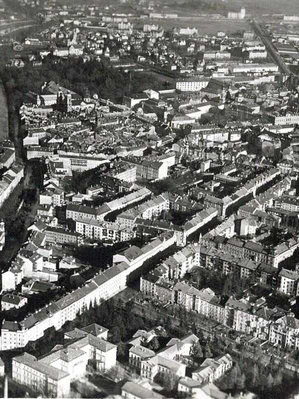 Innsbruck 1930, Luftbild