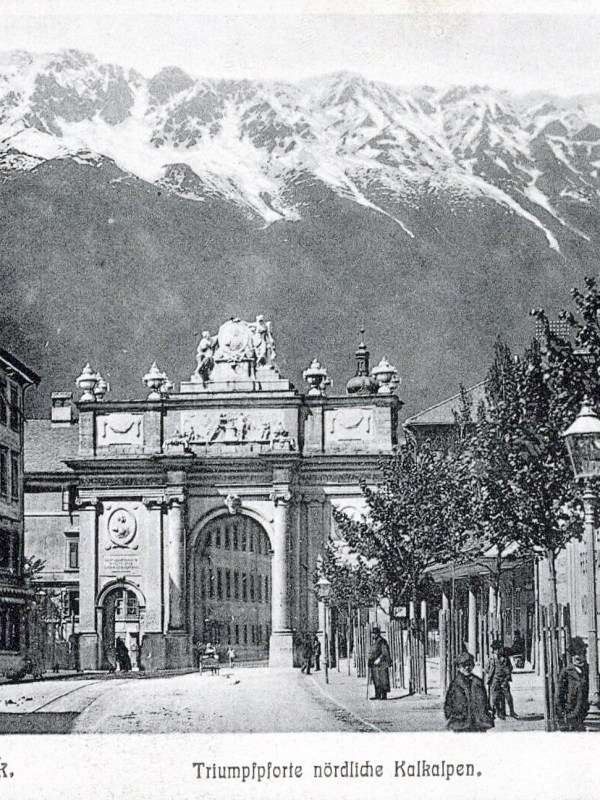 Innsbruck 1900, Triumphpforte