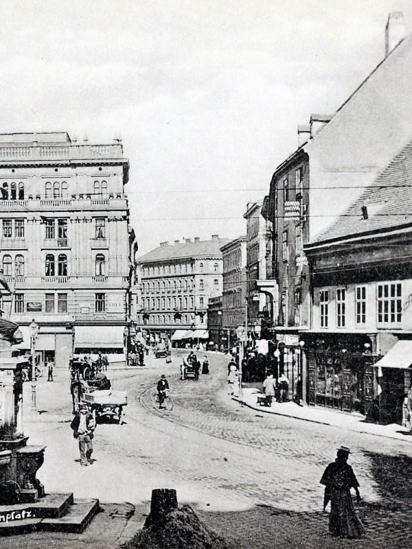 Wien 1904, Margarethenplatz