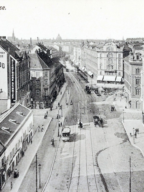 Wien 1903, Wiedner Hauptstraße