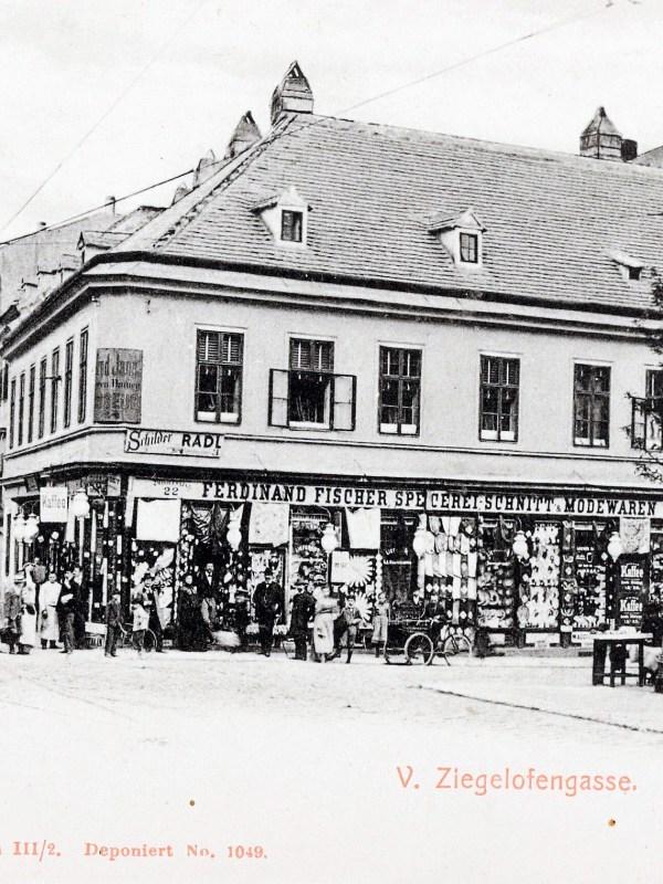 Wien 1900, Ziegelofengasse