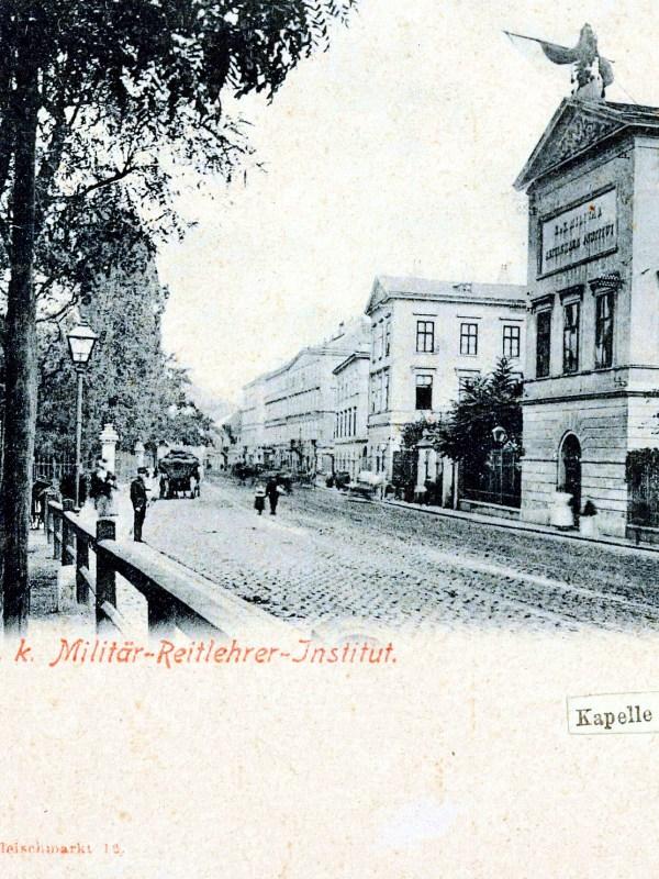 Wien 1899, Reitlehrer-Institut