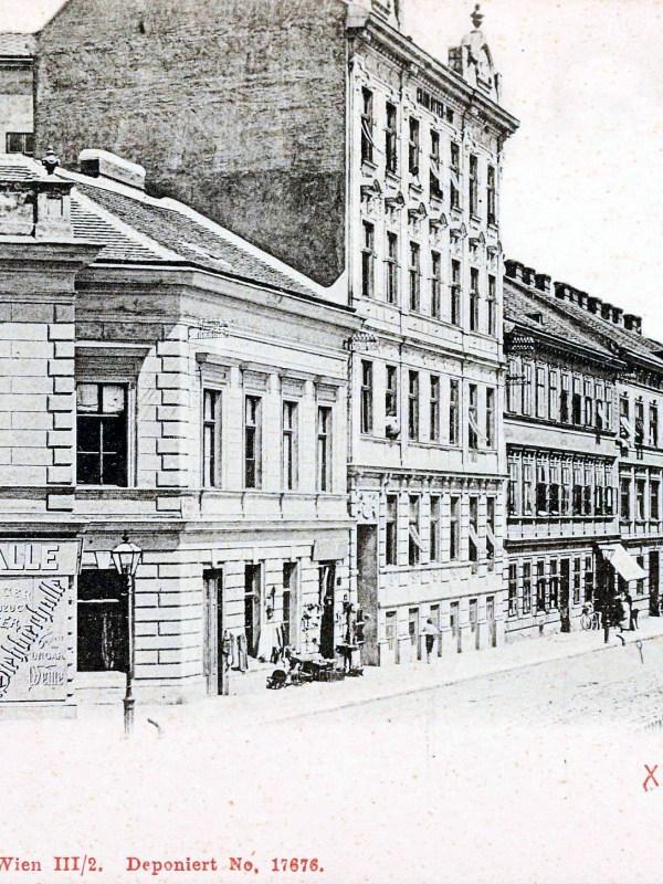 Wien 1905, Stehbierhalle
