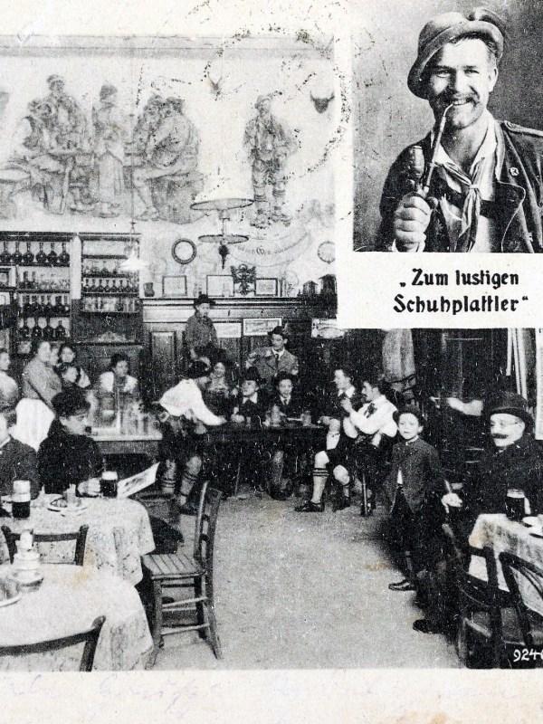 Wien 1906, Zum Lustigen Schuhplattler